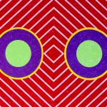 Hsiao Chin 蕭勤, Vibrazione Universale 宇宙脈動, 1965