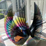 Tom Marosz, Wings Starfire Dichroic Sunburst, 2020