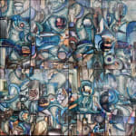 Madonna Phillips, Water Falling Diptych