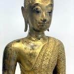Boeddha, thailand boeddha, bronzen boeddha, gouden boeddha, Thailand antiek, Aziatisch antiek, antieke boeddha, interieurontwerp, kunstdecoratie, salondecoratie, bureaudecoratie, bureaudecoratie, plankdecoratie, boekenkastdecoratie, Aziatische kunst, Aziatisch antiek, Aziatisch aardewerk, art thema heyi, belgische kunstgalerie