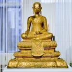 Buddha, thailand buddha, bronze buddha, golden buddha, Thailand antiques, asian antiques, antique buddha, interior design, art decoration, salon decoration, desk decoration, bureau decoration, shelf decoration, bookcase decoration, asian art, asian antique, asian pottery, art thema heyi, belgian art gallery