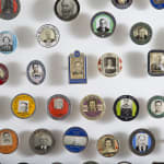 I.D. Badges, Collection of 250 Photo I.D. Badges, 1930s-early 1950s