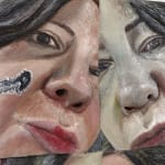 Gina Beavers, Bondage Lips, 2020