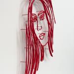 Ghada Amer, Portrait of Nora, 2021