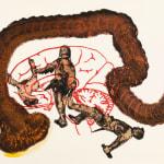 Nalini Malani, Hieroglyphs II (Stories retold series), 2007