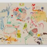 Sue Williams, Pleasant Zones, 2020