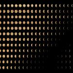 Jitish Kallat, Wind Study (Hilbert Curve), 2017