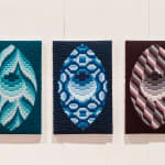 Cecilia Charlton, Quilted Composition [grey // diamonds] , 2019