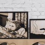 Atul Dodiya, Bapu at Rene block Gallery, New York-1974, 1998