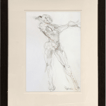 Bella Pieroni, Drawing of a Seated Woman (Hungerford Gallery)