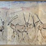 Christine Seifert, Maasai with Herd (Hungerford Gallery)