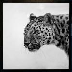 David Hunt, Leopard I (London Gallery)