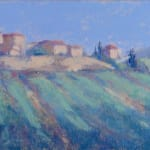 Hermione Owen, Village in France (Hungerford Gallery)