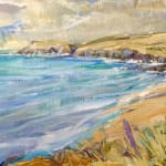 Emma Haggas, Cornish Seascape I (Hungerford Gallery)