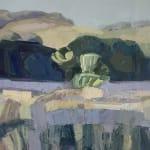 Minnie Shaw Stewart, Sheepdown from Chaddleworth (London Gallery)