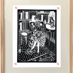 Dione Verulam, z is for zzzs (Unframed)