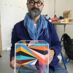 Lothar Götz, Disco-Square, 2020