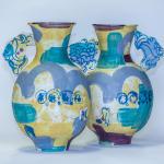Amy Hughes, Medium After Alhambra Vase 02, 2021