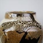 Murata Gen 村田 元, Glazed Jar 扁壺, 1970s