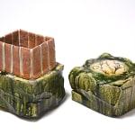 Suzuki Goro 鈴木五郎, Box Narumi-Oribe 陶箱 鳴海織部, 2010s