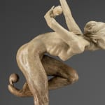 Richard MacDonald, Angelic Crystal, Terra-cotta resin, 2005
