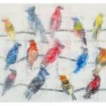Hunt Slonem, Untitled (CRK01571), 2015