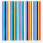 Bridget Riley, Elongated Triangle 6, 1971
