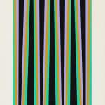 Bridget Riley, Elongated Triangle 6, 1971