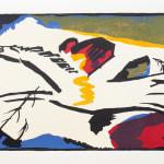Wassily Kandinsky, Bunt im Dreieck, 1965