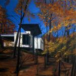 Eamon O'Kane, Studio In The Woods III (After Frank Lloyd Wright's Fallingwater), 2003