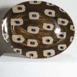 Ali Hewson, Large oval iron and cobalt platter