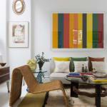 Kirsten Hecktermann, Yellow velvet cushion
