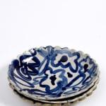 Rachael Cocker, Small scalloped-edge round platter