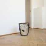 Mateusz Choróbski, A Step Away (thermos, glass, light), 2020