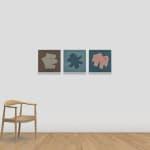 吳東龍Wu Tung-Lung, 小色塊-44 小色塊-45 Little Blocks and Colors-44 Little Blocks and Colors-45, 2020