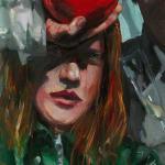 Gerard_Byrne_Holding_On_contemporary_irish_art_painting_detail