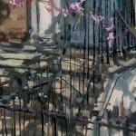 Gerard_Byrne_irish_artist_Afternoon_on_Grantham_Street_modern_impressionism_painting_detail
