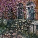 Gerard_Byrne_irish_artist_Afternoon_on_Grantham_Street_Dublin_modern_impressionism_art_gallery_dublin