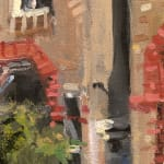 Gerard_Byrne_Keep_on_the_Sunny_Side_contemporary_impressionism_plein_air_fine_art_gallery_dublin_painting_detail