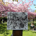 Gerard_Byrne_irish_Spring_is_Here!_Herbert_Park_Dublin_plein_air_painting