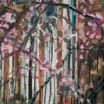 Gerard_Byrne_irish_artist_Portobello_Blooms_Grantham_Street_Dublin_modern_impressionism_painting_detail