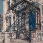 Gerard_Byrne_Spring_Shadows_Mansion_House_Dublin_modern_irish_impressionism_art_gallery_dublin