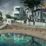 Gerard_Byrne_Caribbean_Dreams_Sandycove_II_contemporary_impressionism_fine_art_gallery_Dublin_Ireland