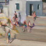 Gerard_Byrne_Caribbean_Dreams_Sandycove_contemporary_impressionism_painting_detail