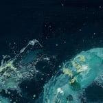 Gerard_Byrne_irish_artist_Watching_the_Waves_II_contemporary_figurative_art_painting_detail