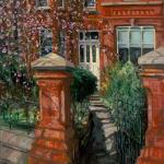 Gerard_Byrne_irish_artist_Waiting_For_the_Sun_Eglinton_Road_Dublin_modern_impressionism