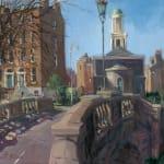 Gerard_Byrne_Huband_Bridge_on_St_Patrick's_Day_Dublin_modern_irish_impressionism_art_gallery_dublin