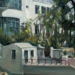 Gerard_Byrne_Caribbean_Dreams_Sandycove_III_painting_detail_contemporary_impressionism_fine_art_gallery_Dublin_Ireland