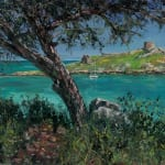 Gerard_Byrne_Deep_Turquoise_Dalkey_Island_contemporary_impressionism_fine_art_gallery_Dublin_Ireland