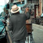 Gerard_Byrne_painting_plein_air_The_Grand_Dame_of_Dublin_modern_irish_impressionism